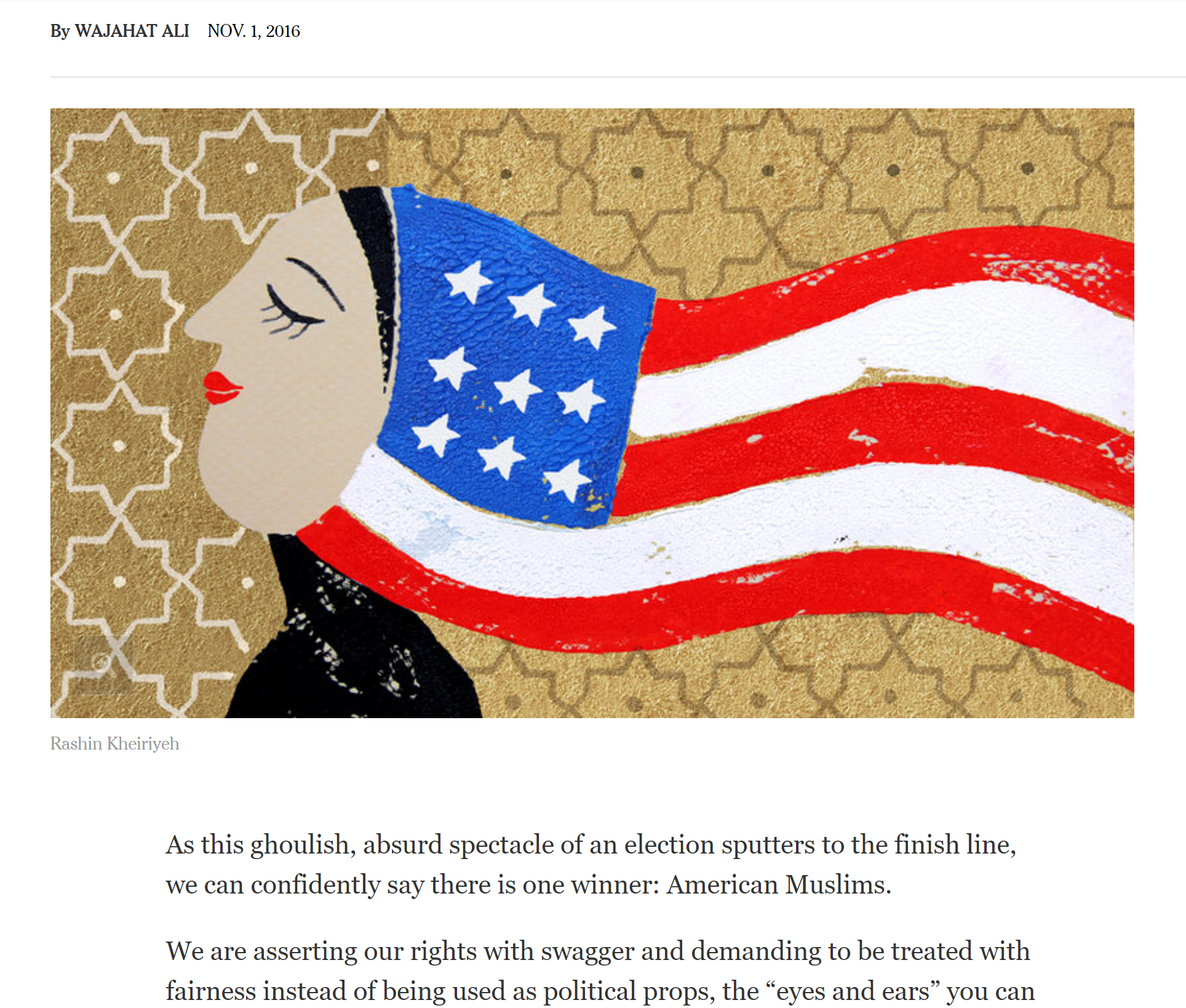 American Muslim Women In New York Times 2016